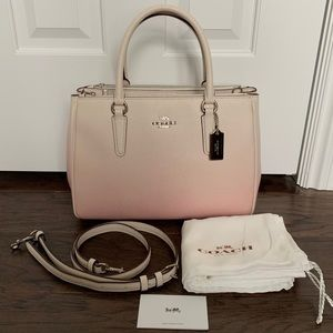Coach 66884 Ombré Leather Surrey in Pink Multi